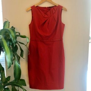 Elite Tahari mauve dress, size US 44